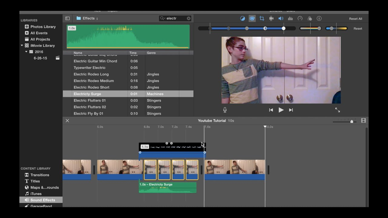 how to make imovie faster