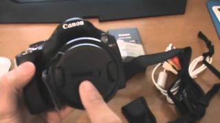Canon Powershot SX30 IS unboxing/Review