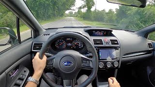 2020 Subaru WRX Premium Series.White - POV Review