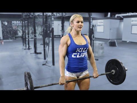 Make Brooke Ence- CrossFit Tabata (Part 1) Images