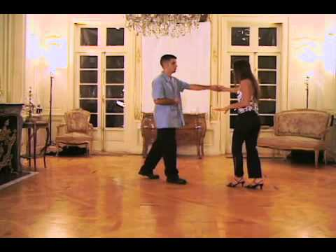 Salsa Dance Lesson 14 - This Push Pull Move Looks Good