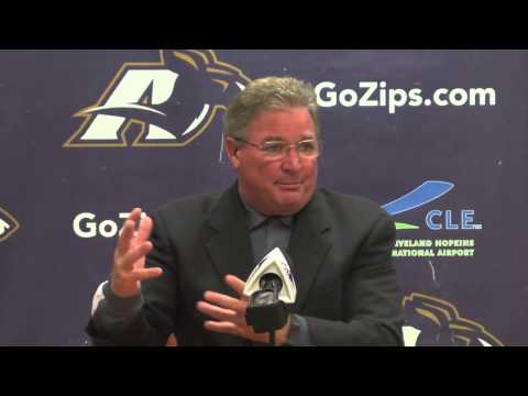 Zips Football: Coach Bowden Week 1 Press Conference