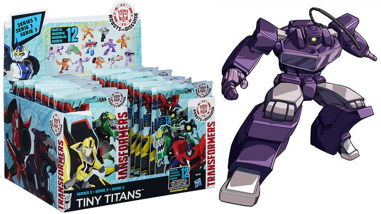 Transformers Tiny Titans - Series 3 [Blind Bags Unboxing] - YouTube