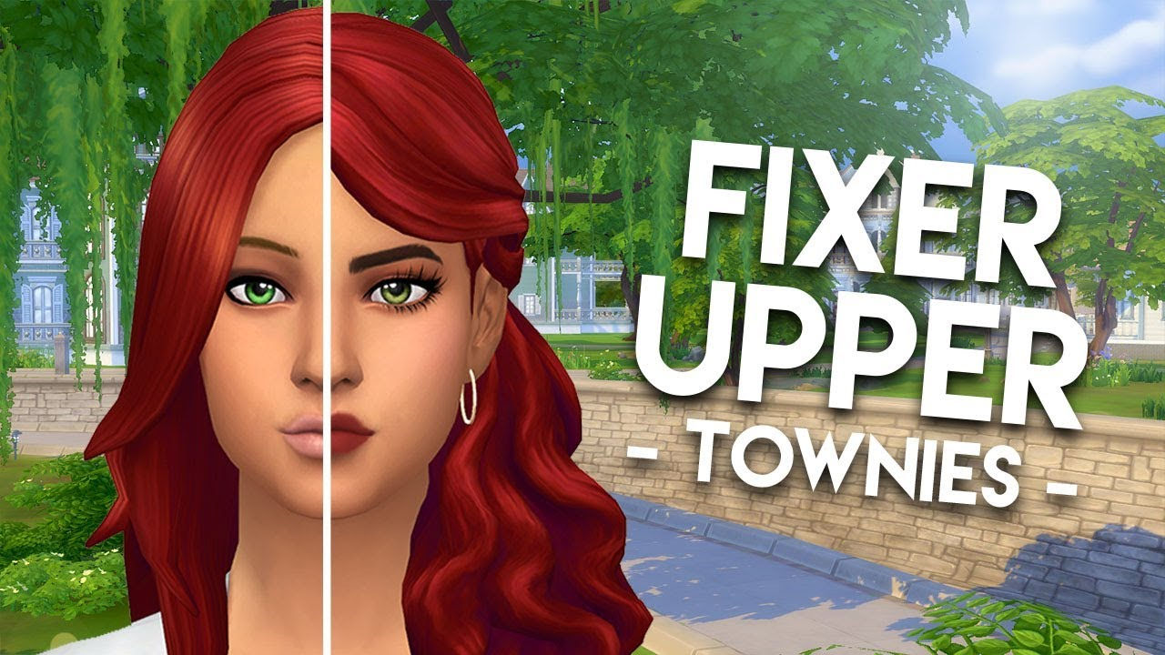 FIXING KATRINA CALIENTE // The Sims 4: Townie Makeovers