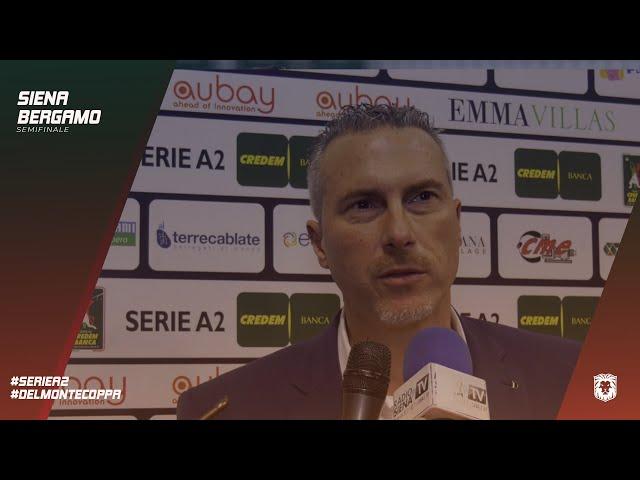 EMMA VILLAS AUBAY SIENA | SemiFinale Del Monte Coppa #SienaBergamo - Fabio Mechini