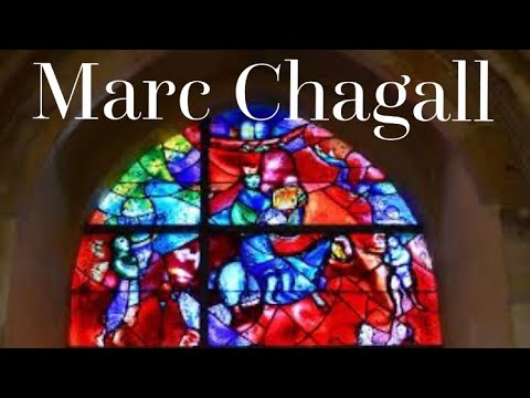 Marc Chagall All Stained Gl Windows