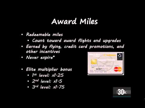 How frequent flyer programs work - Lesson 2: Types of miles