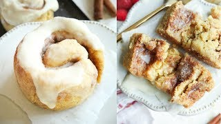 KETO CINNAMON ROLLS FROM SCRATCH IN 5 MINUTES | HOW TO MAKE EASY LOW CARB CINNAMON ROLLS