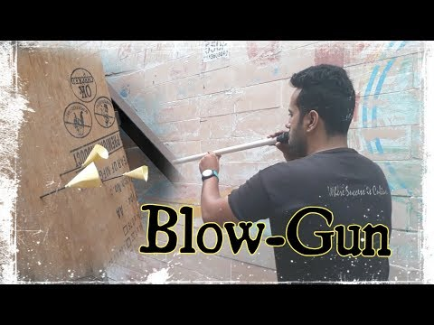 how to make a blowgun out of pvc pipe