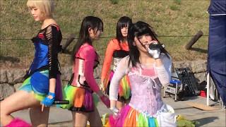 2017年5月14日 大阪城公園 「城天アイドルストリート」 仮面女子候補生W...