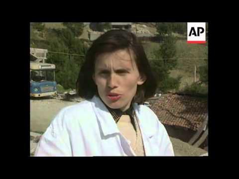 ALBANIA: GJIROKASTRA: ASYLUM RANSACKED BY ARMED REBEL TEENAGERS