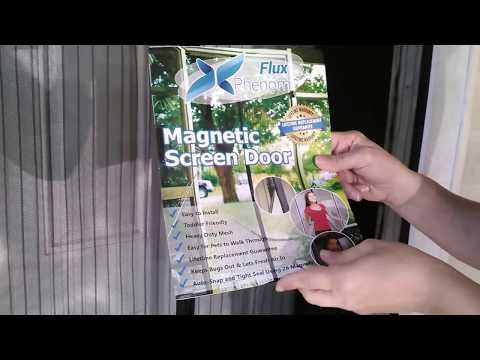 MAGNETIC SCREEN DOOR REVIEW - AMAZON PURCHASE