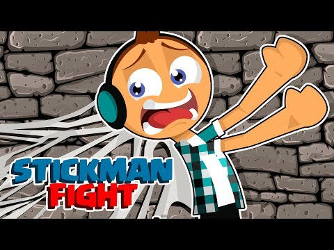 AUTHENTIC DE PALITINHO FICOU COLADO !! (STICK FIGHT GAME)