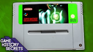 Green Lantern's Cancelled SNES Game - Game History Secrets
