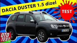 Dacia Duster 1.5 diesel test drive - review - comments