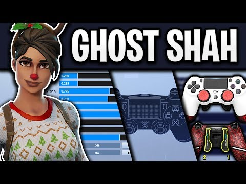 Ghost Shah's Fortnite Settings, Controller Binds and Setup (NEW)