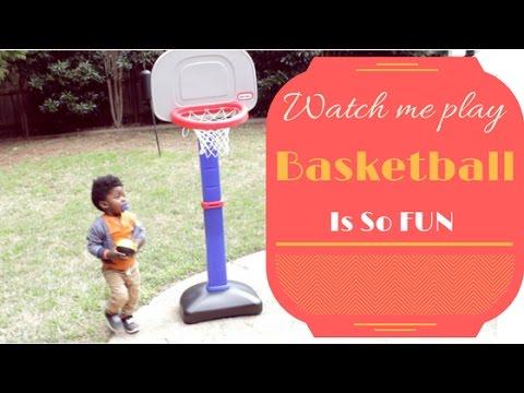 this-toddler-loves-basketball:-little-tikes-totsports-easy-score-basketball-set