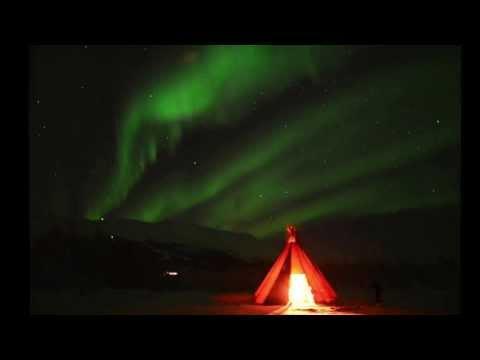 auroras in abisko national park february 1st, 2014 1280x720