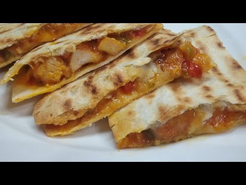 Mexican Chicken Quesadillas Recipe-Make It Easy Recipes