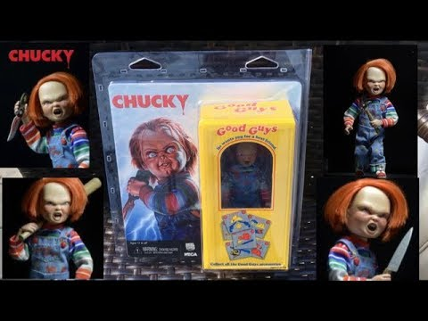 "Chucky 8/"" Scale Clothed Figure NECA"