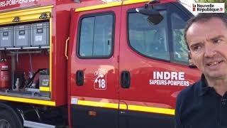 VIDÉO. Les sapeurs-pompiers de l'Indre présentent leur dernier engin, le «CCRL»