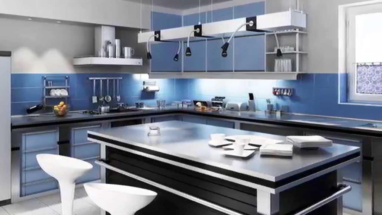 Farbgestaltung küche - YouTube