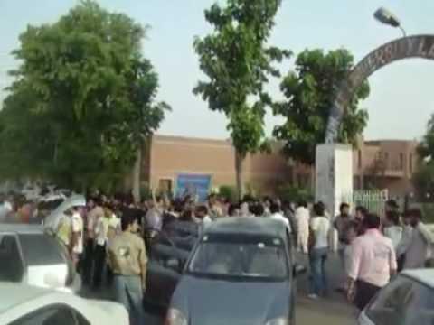 last day celebration at punjab university law college lahore