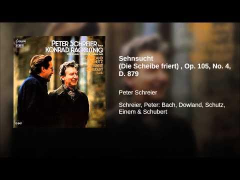 Sehnsucht (Die Scheibe friert) , Op. 105, No. 4, D. 879