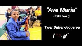 Ave Maria - Schubert (violin cover) Tyler Butler-Figueroa 11 years old