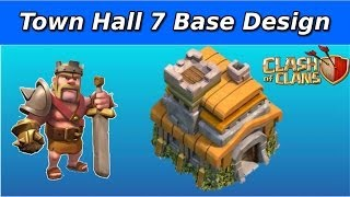 [TROPHY] Clash of Clans- Town Hall 7 Base (The Arrow)