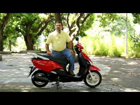 Vrum testa o scooter Honda Lead 110