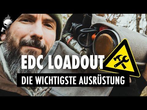 Die WICHTIGSTE AUSRÜSTUNG für Outdoor und Bushcraft – Immerdabei EDC / EHC Loadout