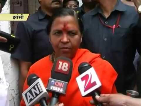 Ban should be imposed on Sonia instead of Ramdev: Uma Bharti