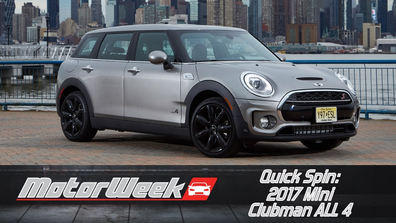 Quick Spin 2017 Mini Clubman All 4 Youtube