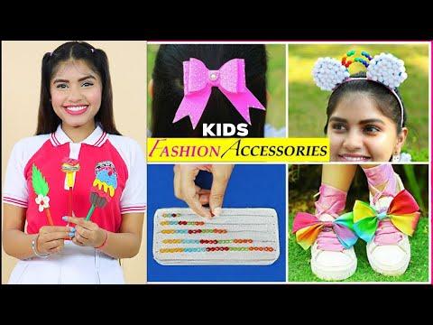 5 Kids FASHION/SCHOOL Supply DIY | Children's Day | #Accessories #MyMissAnand #Anaysa #DIYQueen