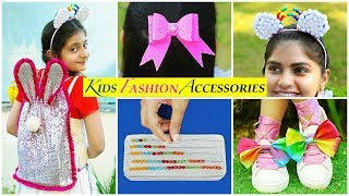 5 Kids FASHION/SCHOOL Supply DIY | Children's Day | #Accessories #MyMissAnand #Anaysa #DIYQueen