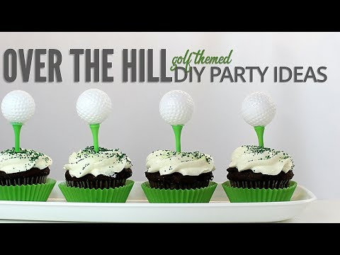 3 DIY Golf Themed Party Ideas and Gifts | 40th birthday celebration!
