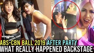 ABS CBN BALL 2019 BACKSTAGE HAPPENINGS! AFTER PARTY!
