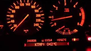BMW_E39_E38_E53 прогреваем двигатель