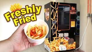 French Fries Vending Machine In Malaysia