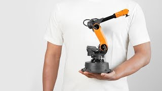 Mirobot | 6-axis Mini-industrial Robot Arm