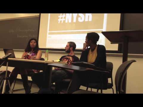 New York Students Rising Left Forum Panel