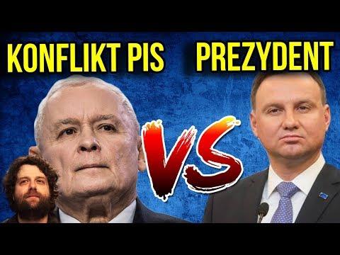 Konflikt Kaczyński / PIS vs Prezydent DUDA to PRZYKRYWKA - Komentator