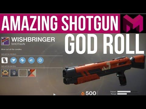 You NEED Wishbringer : Perfect u0022Godu0022 Roll Crucible Shotgun