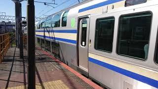 E235系1000番台J-03編成+F-03編成 快速東京行き 津田沼駅発車