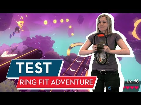 Ring Fit Adventure Im Test/Review: Nintendos Ring Of Muskelkater!
