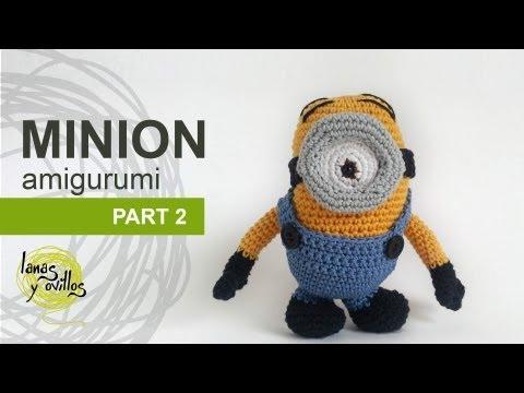 Minion Amigurumi en espanol paso a paso - Amigurumi ...