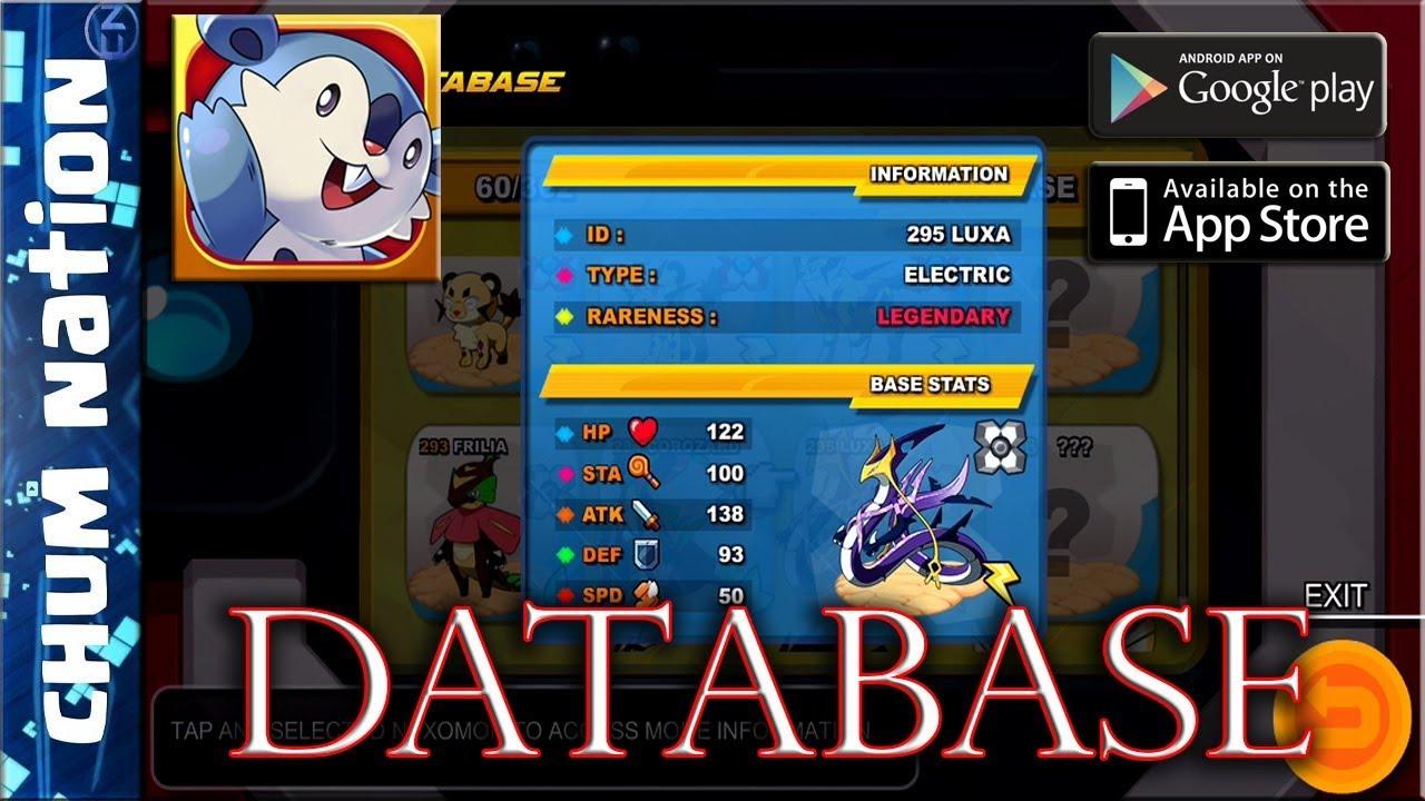NEXOMON - Official Gameplay(Android/iOS) | NEXOMON DATABASE