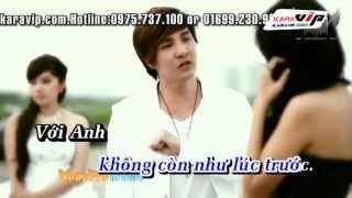 [Karaoke] Và Như Thế Anh Quên Em - Lâm Chấn Khang Beat Phối