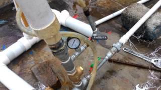 amazing free energy water ram pump